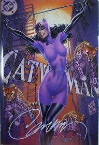 CATWOMAN 80th Anniversary Campbell SIGNED Exclusive (1200 Ltd) DC comics 1st prt