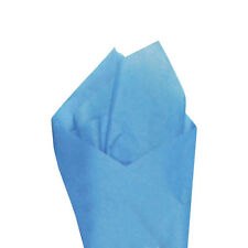 "24 Sheets / Pack 20"" x30"" Pacific Blue Quality Premium Grade Color Tissue Paper"