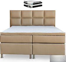Boxspringbett 180x200 cm Komfortbett Hotelbett Bett Schlafzimmerbett Muddy Bett