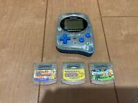 Pokemon mini Console and 3 Games Set