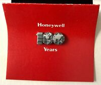 RARE Vintage Honeywell 100 Years metal pin from 1985 - make an offer !