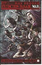 SDCC 2014 Avatar Max Brooks The Extinction Parade: War #1  Face Off Cover