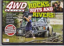 4WD Action DVD # 217  Rocks, Ruts & Rivers  Never Viewed As New All Regions