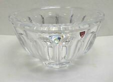 "Orrefors San Michele Large 9⅜"" Clear Crystal Centerpiece Bowl w/ Sticker EC!"