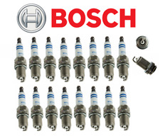 OEM Spark Plugs Platinum Plug Bosch Mercedes V8 CL CLK CLS E G ML R S SL (16pcs)