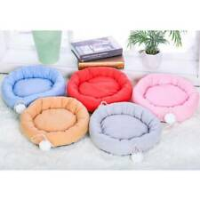 New listing Pet Cat Dog Nest Bed Puppy Soft Warm Round Pad Winter Sleeping Mat Cushion Mp