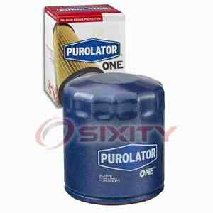 PurolatorONE Engine Oil Filter for 2003-2011 Jeep Wrangler 3.8L V6 Oil xe