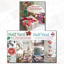Debbie Shore Collection Half Yard Christmas & Gift,Handmade Christmas 3 Book Set