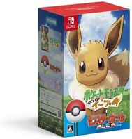 Let's Go Eevee  Pokemon Poke Ball Plus Pack Nintendo Switch video game