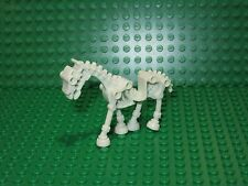 LEGO White Glow in dark Skeleton Dead Horse Monster Fighters Harry Potter Castle
