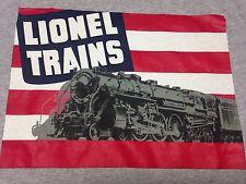 Lionel Trains Medium Gray T-Shirt Railroad Locomotive Engine Model