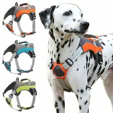 NO PULL Dog Harness Duarble Reflective Nylon Mesh Vest Small-Extra Large Pet Dog