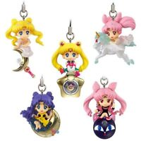 Sailor Moon Twinkle Dolly Part 3 Mini Figuras Charm Strap Set Bandai Llavero
