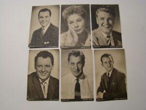 6 Picture Show Photograph Postcard Series Jack Lemmon Vincent Price Rod Steiger