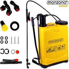 Monzana® Sprühgerät 16 Ltr. Drucksprüher Garten Spritze 4 Düsen Pumsprüher