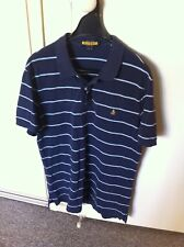 Vintage Polo Ralph Lauren Striped Rugby Polo Shirt Large