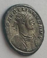 Aurelian AD 270-275 Antoninianus Authentic Ancient roman silvered coin