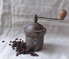 ANCIEN MOULIN A CAFE ROND EN TOLE PEUGEOT