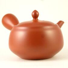 Japanese Tokoname Kyusu teapot / pottery studio Morimasa / red clay