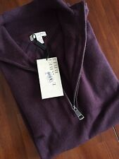 BURBERRY BRIT BOYSENBERRY FIT SWEATER ( SMALL ) 325