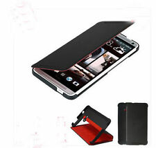NEW brand HTC ONE M7 802W 802t 802d DUAL SIM CARDS Phone Flip Leather Case