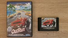 OutRun SEGA Mega Drive Spiel & Box - Boxed