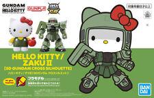 Bandai 50610301 Hello Kitty/zaku II SD Gundam Cross Silhouette