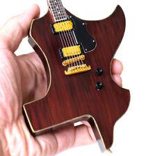 Miniature Guitar Zz Top Gibbons Texas Shape Cool Handmade Free Ship