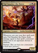 VIAL SMASHER THE FIERCE Commander 2016 MTG Gold Creature — Goblin Mythic Rare