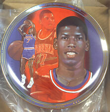 BRAND NEW KEVIN JOHNSON 10 1/2 INCH COMMEMORATIVE PLATE NICE!