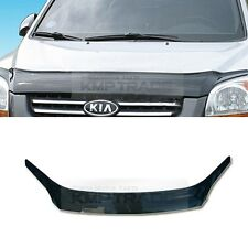 Smoke Emblem Front Hood Guard Bug Shield Molding for KIA 2005 - 2010 Sportage