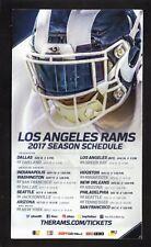 Los Angeles Rams--2017 Magnet Schedule