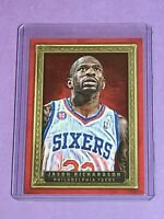 Jason Richardson Philadelphia 76ers Sixers 2013-14 Panini Court Kings Red 4/25