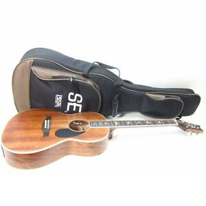 PRS SE Tonare PE20PSAVM 6-String Right-Handed Acoustic-Electric Guitar - Natural