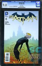 BATMAN #43 - CGC 9.8 - FIRST PRINT - FEW CERTIFIED - FIRST APPEARANCE BLOOM