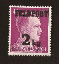 Nazi Germany Third 3rd Reich Army Wehrmacht Hitler 2kg Feldpost stamp MNH