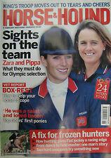 HORSE And HOUND - The Equine Interest Magazine 9 February 2012 - Zara & Pippa