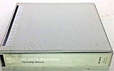 HP 3457A Multimeter Operating Manual P/N 03457-90003