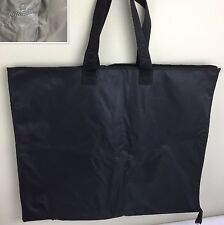 Omega Watch Company Garment Bag Travel Storage Foldable Carry On Black Logo RARE