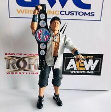 WWE WWF John Cena US Title Faux Leather custom Belt for Mattel/Jakks Figures