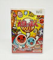Nintendo Wii - Taiko No Tatsujin Versione Giappone - Completa