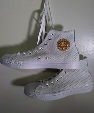 Converse All Star Chuck Taylor Hi Premium Leather Shoes Men Size 9.5