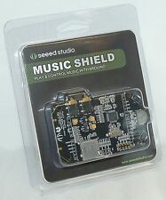 NEW Seeed Studio Music Shield Play & Control With Arduino 2770068 MP3 Control