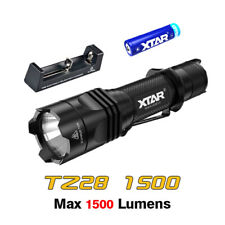 XTAR TZ28 1500lm Cree XHP35 HI/D4 LED Tactical Flashlight Torch+Battery+Charger