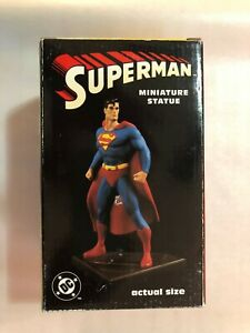Superman miniature statue1988 Hand-painted porcelain by Bowen, 4112 of 5000