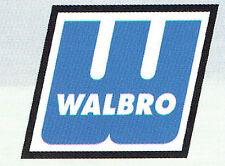 GENUINE WALBRO CARBURETOR REPAIR KIT # K10-HDC