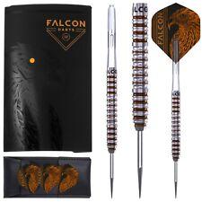 FALCON DARTS™ KT M1 90% Tungsten Darts 22g or 24g + Flights, Shafts, Dart Wallet