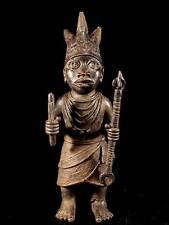 ** Bronze Krieger / Nigeria, Benin ** 5 kg **