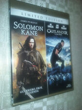 cofanetto+2 blu ray nuovo film Blr-Solomon Kane + Outlander-L'ultimo vichingo