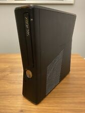 Microsoft Xbox 360 S Slim Model 1439 4Gb Black Console Only Tested